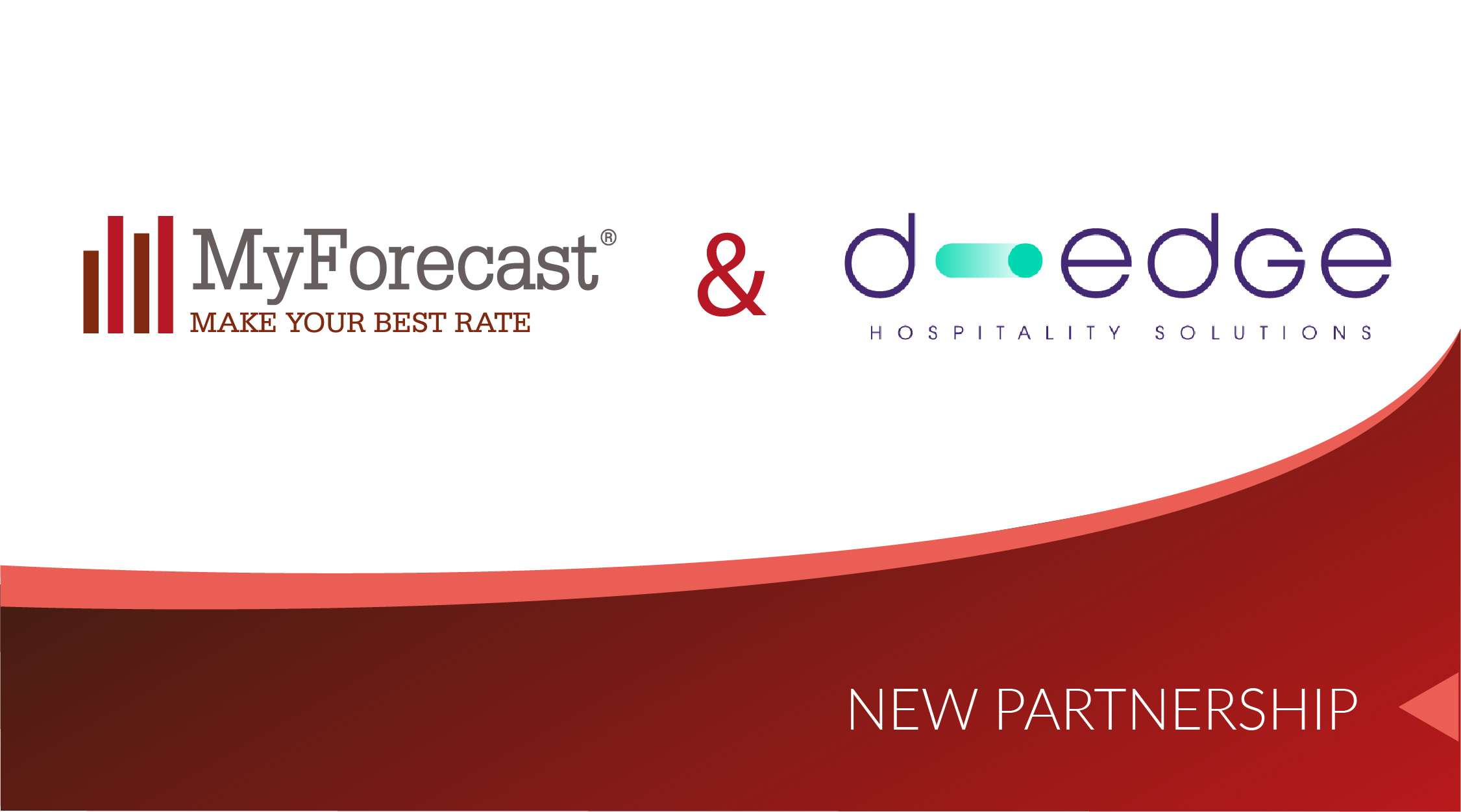 Myforecast and D-Edge, the partnership in favor of hoteliers is underway