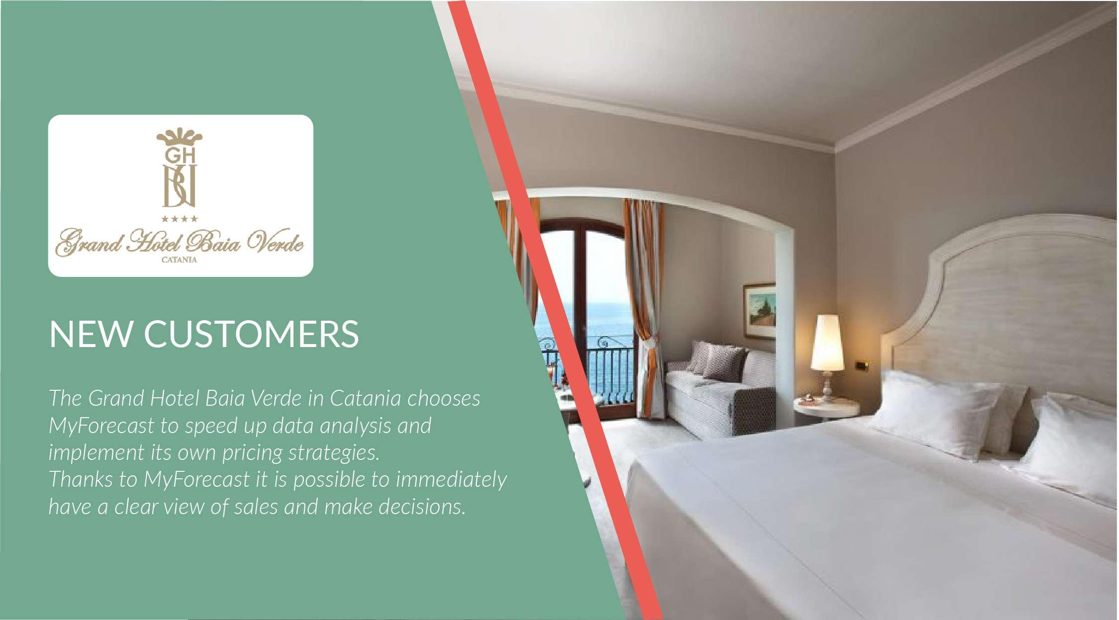 New customer: Grand Hotel Baia Verde