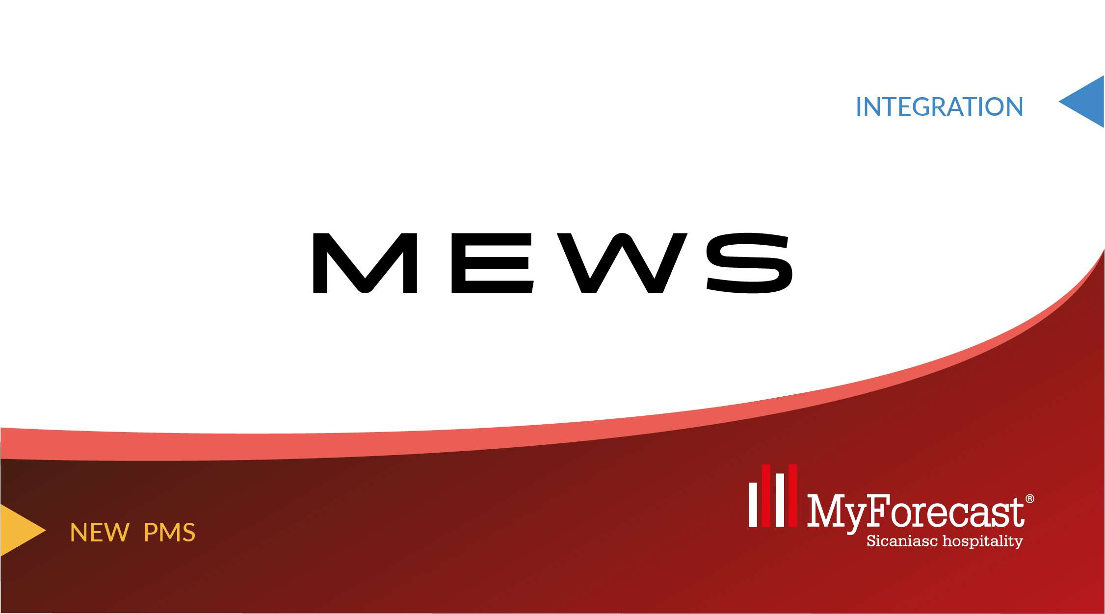 MyForecast obtains the Mews certification. The partnership between the Hotel Revenue Software and the Hotel Management has started.