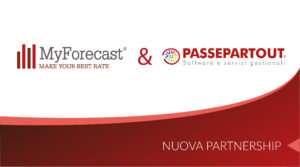 Passepartout e MyForecast siglano un accordo senza precedenti