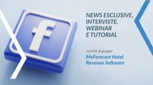 Nuovo gruppo MyForecast su Facebook